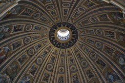 Inside Vatican Dome