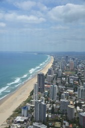 Gold Coast Beaches - VIew from above