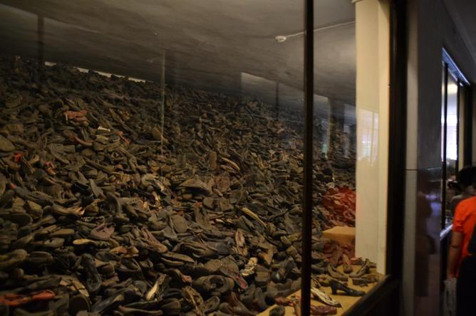 Auschwitz Vankosh World Tour A Canadian Family Travels