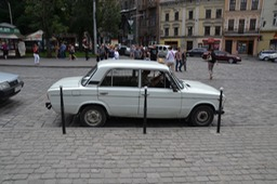 Typical Ukrainian Classic car